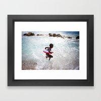 Haiti is Beautiful Framed Art Print
