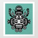 Râ Tatoo Art Print