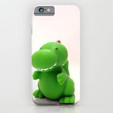 Happy Green Dinosaur iPhone 6 Slim Case