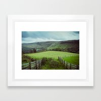 Glens of Antrim Framed Art Print