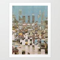 Miami Beach, Florida Art Print