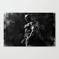 Splash of Darkness. Canvas Print