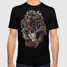Day of the Dead (Ancient Guardians) Mens Fitted Tee Black SMALL