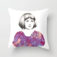 HELIX Throw Pillow