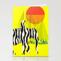 Zelephant - Mahout & Elephant Stationery Cards