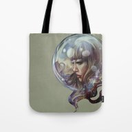 Astral  Affection Tote Bag