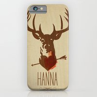 iPhone & iPod Case featuring HANNA film tribute poster by alex lodermeier