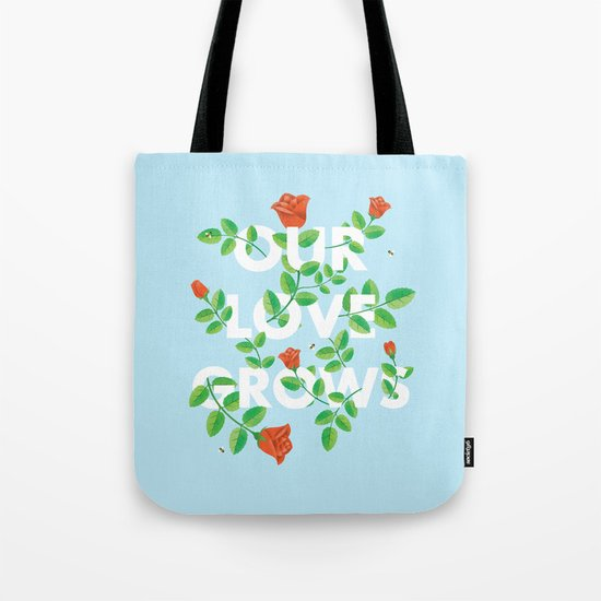 Our Love Grows Tote Bag