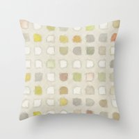 Retro Touch - Painting Style Throw Pillow