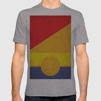 Tobias No.1 Mens Fitted Tee Athletic Grey SMALL