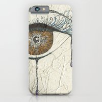iPhone & iPod Case featuring Sad Eye by Romina M.