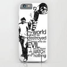 Anonymous and typography quote iPhone 6s Slim Case
