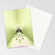 Green Meditation Stationery Cards