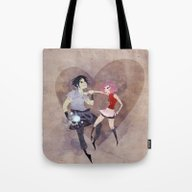 Tote Bag featuring I Hate To Love You! by Serena Rocca