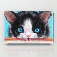 Whiskers on Kittens iPad Case