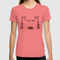 Took the Bait Womens Fitted Tee Pomegranate SMALL