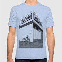 Tool Town Mens Fitted Tee Athletic Blue SMALL