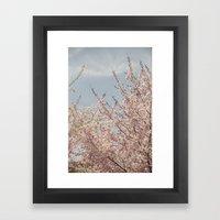 Sweet & Blue Framed Art Print