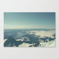 Amidst The Summit - Mt. … Canvas Print