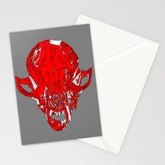 Fox Skull Stationery Cards