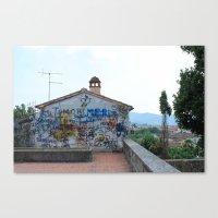 Arezzo Graffiti Canvas Print