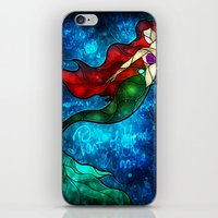 The Mermaids Song iPhone & iPod Skin
