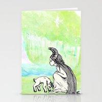 Welcome Home Capra Princess Stationery Cards