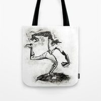 Wound-up: The Pitcher Tote Bag