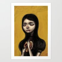 A Hunger That Will Not Go Away Art Print