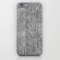 Stockinette Black iPhone 6 Slim Case
