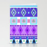 Winter Patterns Stationery Cards