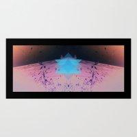 Triangular life Art Print