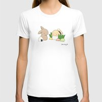 Sushi Womens Fitted Tee White SMALL