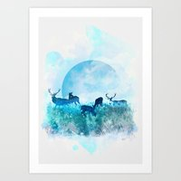 Twilight Art Print