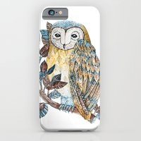 iPhone & iPod Case featuring Owl by Nora Illustration