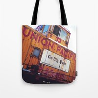 the union pacific caboose Tote Bag