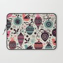 Birds and Baubles  Laptop Sleeve