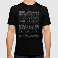 Jonathan Edwards Resolutions Mens Fitted Tee Black SMALL