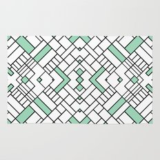 PS Grid 45 Mint Rug