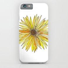 Yellow Gerber Daisy Slim Case iPhone 6s
