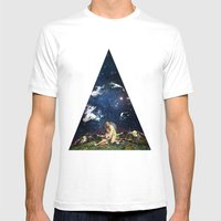 Hiding Mens Fitted Tee White SMALL