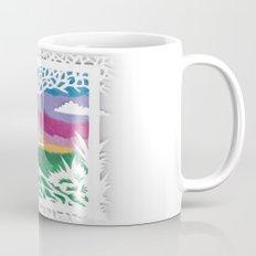 Sunset Swing Papercut Mug
