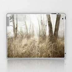 MIMICKED FORMS IN A MYSTERIOUS WOOD Laptop & iPad Skin