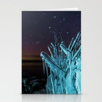 Encased in the Stars Stationery Cards