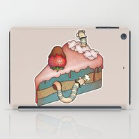 SWEET WORMS 3 - Strawber… iPad Case