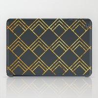 Diamond Art Deco; - Blac… iPad Case