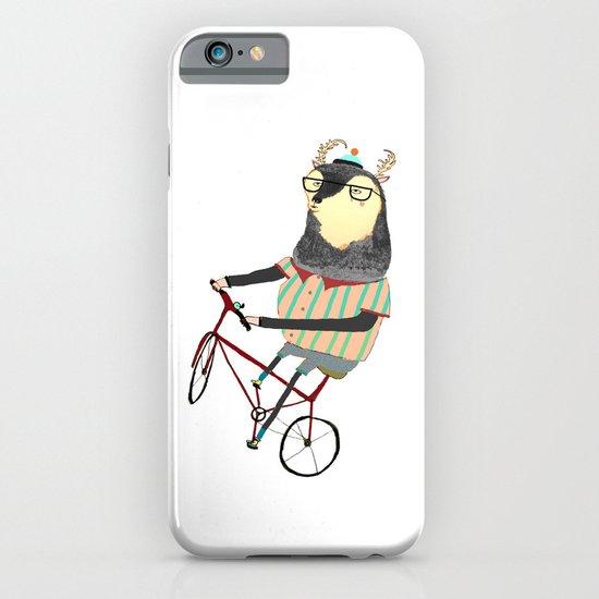 Deer on Bike.  iPhone & iPod Case