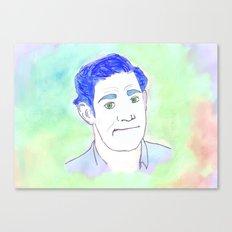 Jim Halpert Face.  Canvas Print