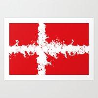 in to the sky, Denmark  Art Print