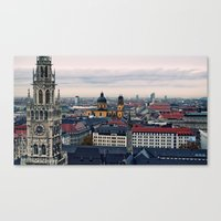Towering Bavaria  Canvas Print